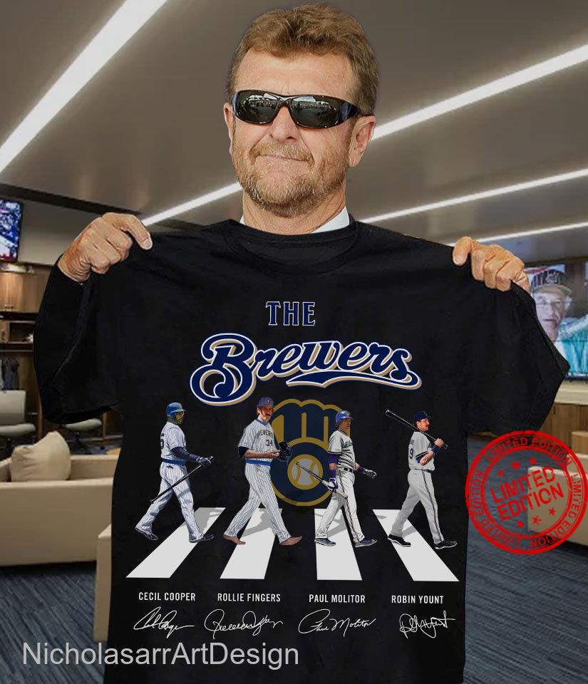 The Brewers, Milwaukee Brewers Abby Road Shirt