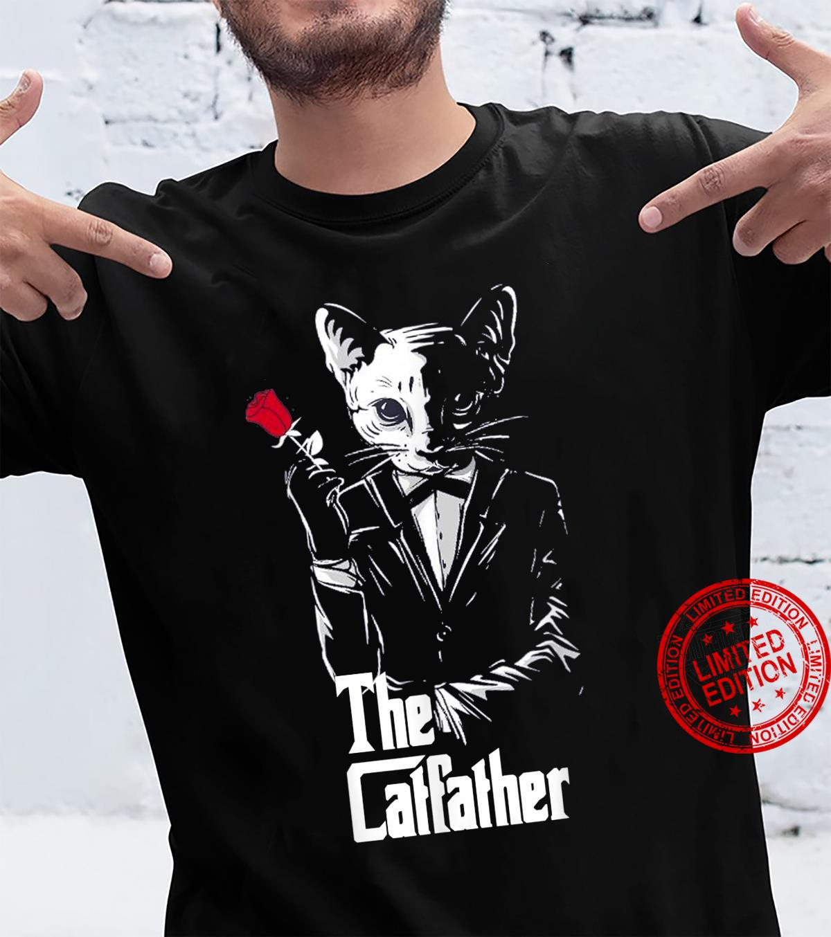 The Catfather The Cat Father's Day Shirt