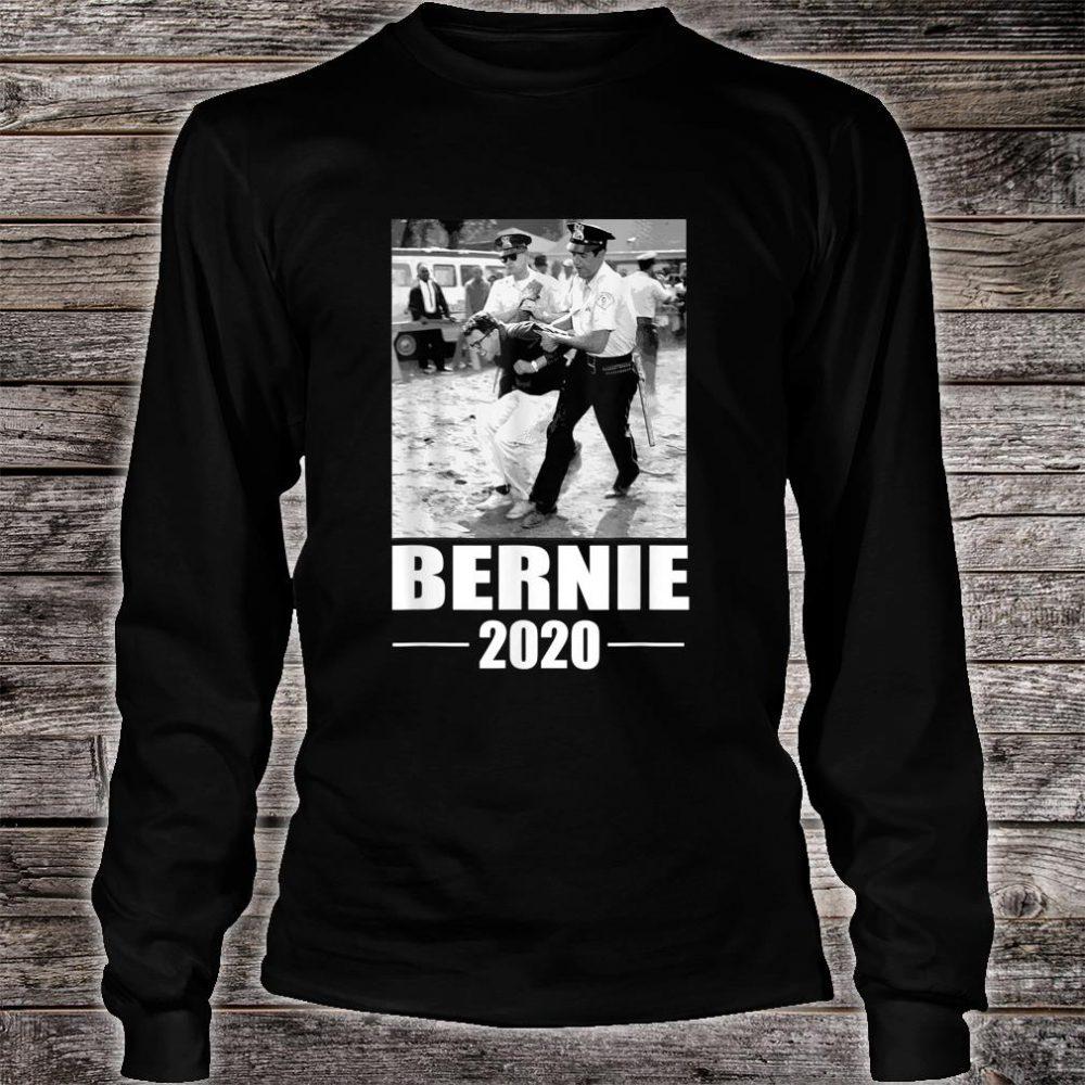 Bernie Sanders Protest Arrest Shirt long sleeved