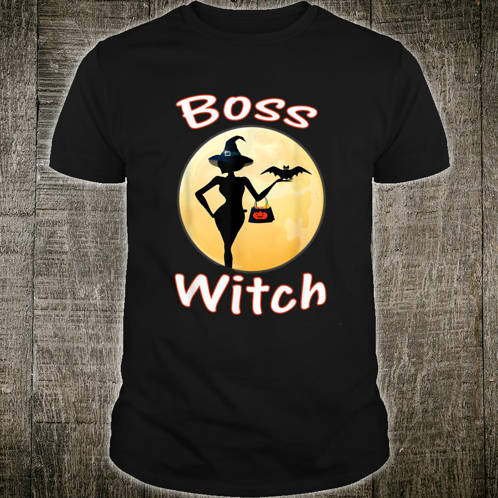 Boss Witch Halloween sassy Shirt