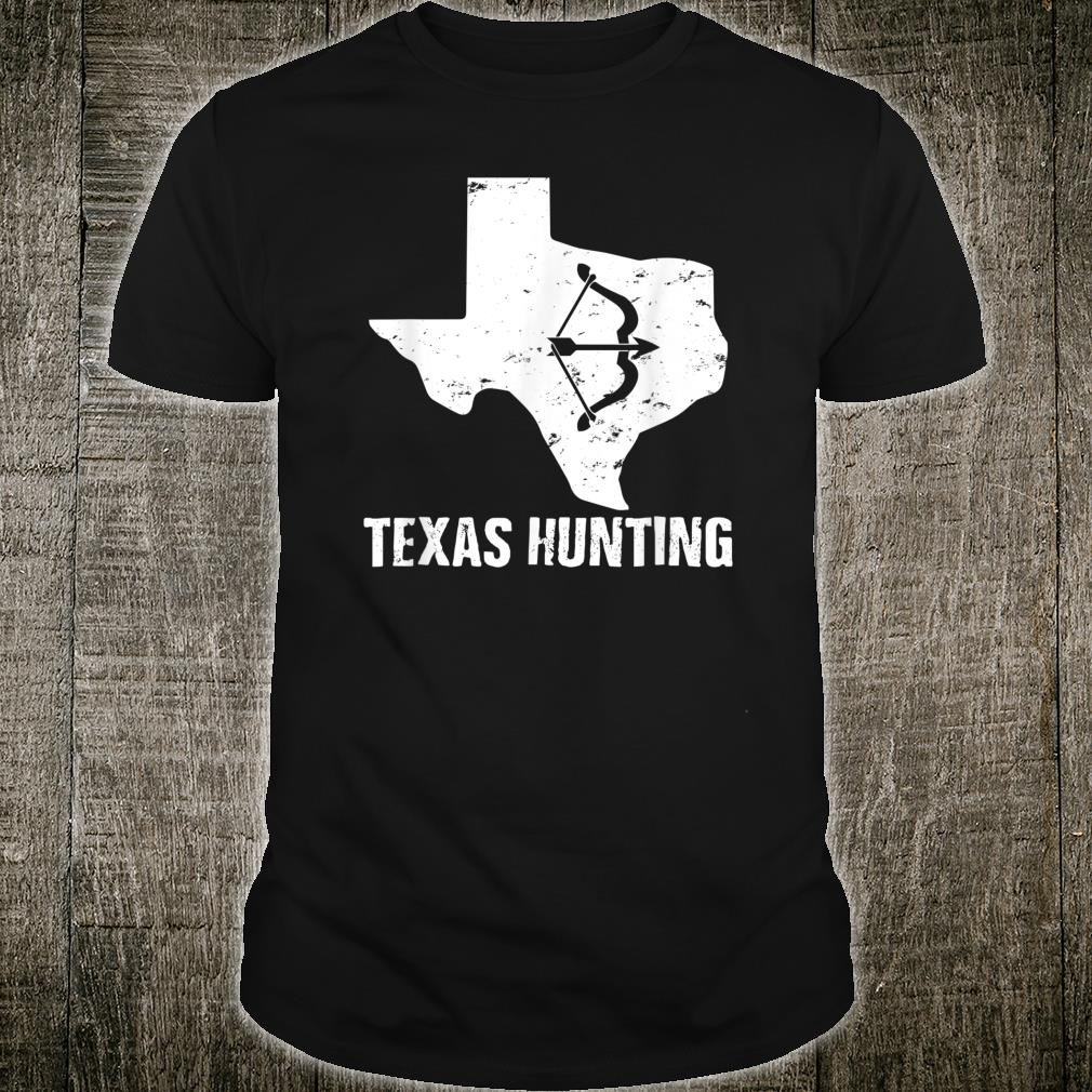 Bowhunting Texas Home State For Hunting Archery Bow Arrow Shirt