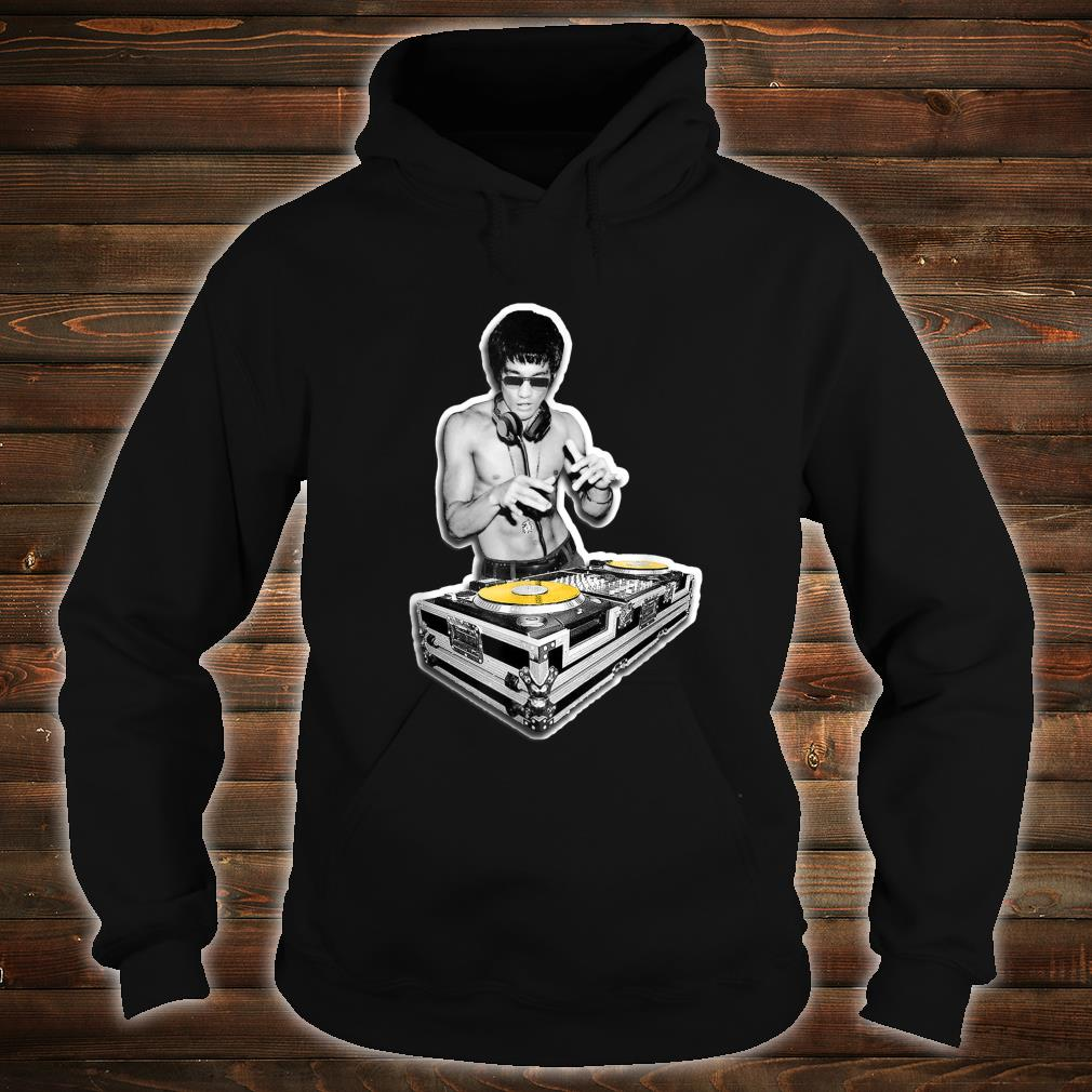 Bruce DJ Vintage Mixer Martial Arts Fighter Music Shirt hoodie