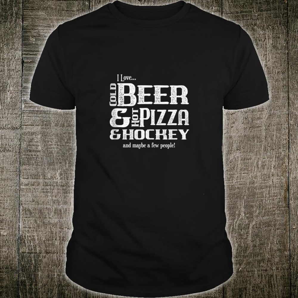 Funny Hockey Player Pun Joke Sarcasm Humor Novelty Shirt