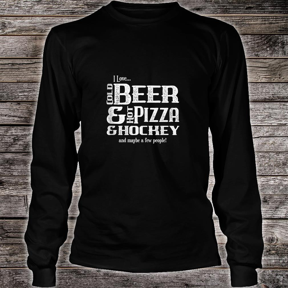 Funny Hockey Player Pun Joke Sarcasm Humor Novelty Shirt long sleeved
