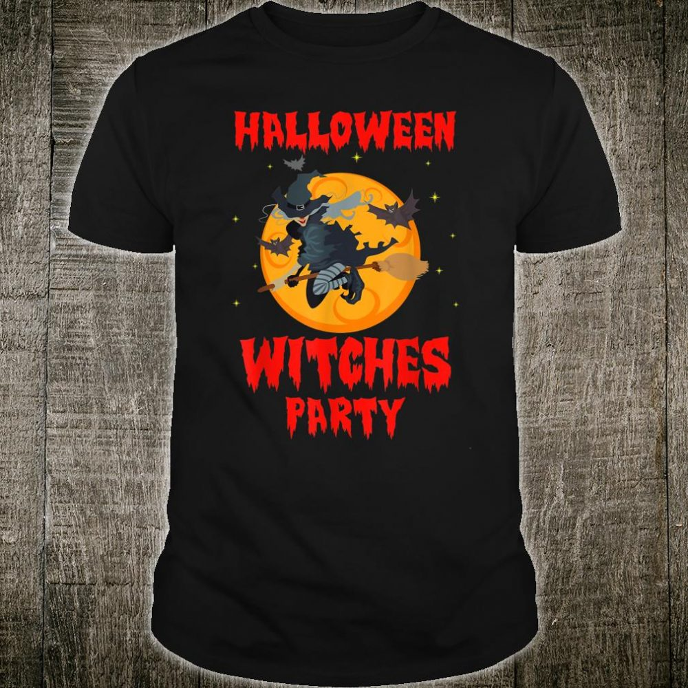 Halloween Witches Party Shirt