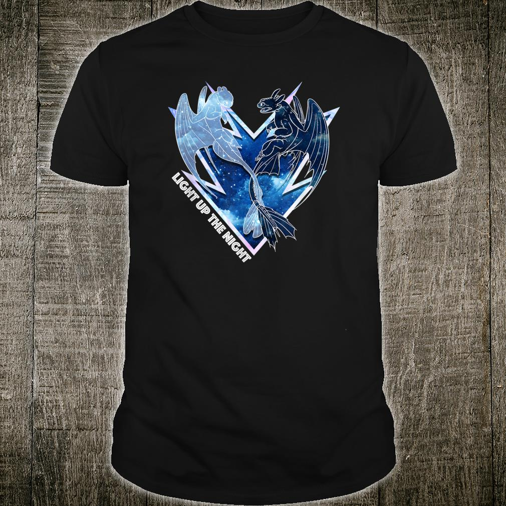 How to Train Your Dragon 3 Hidden World Light Up The Night Shirt