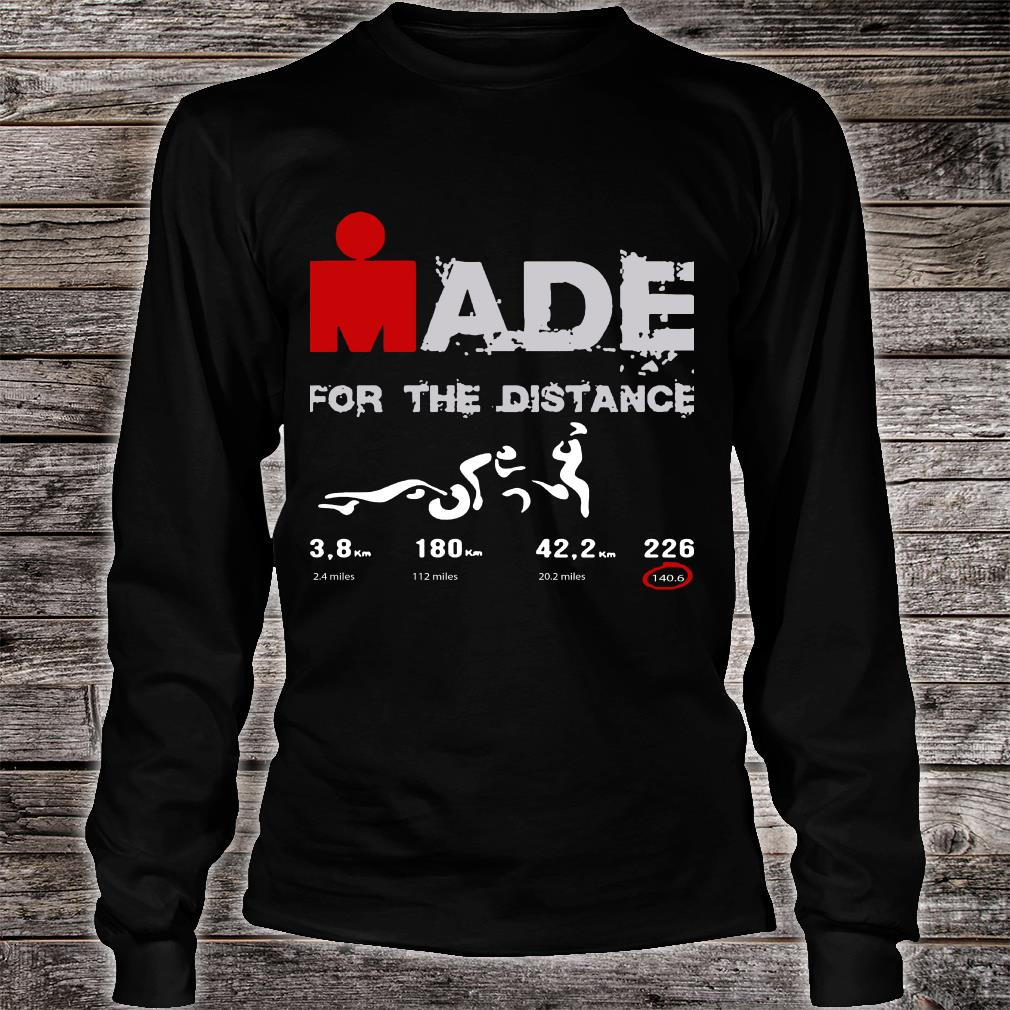 Ironman Made For The Distance Shirt long sleeved