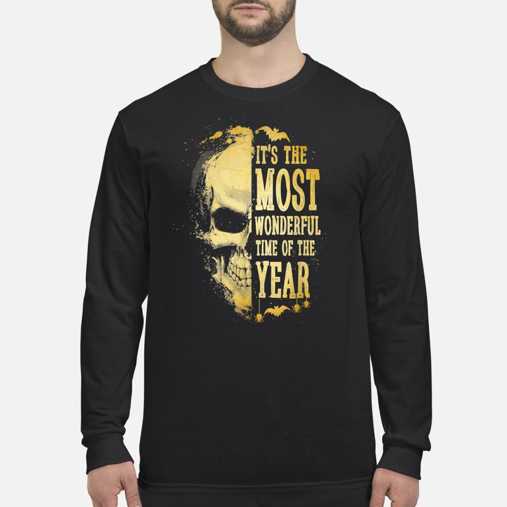 It's The Most Wonderful Time Of The Year Halloween Shirt long sleeved
