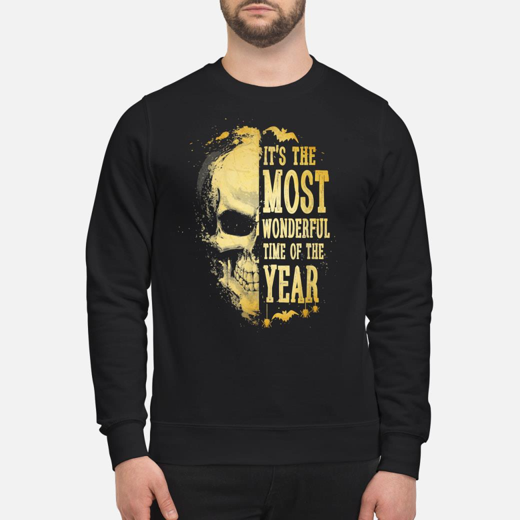 It's The Most Wonderful Time Of The Year Halloween Shirt sweater