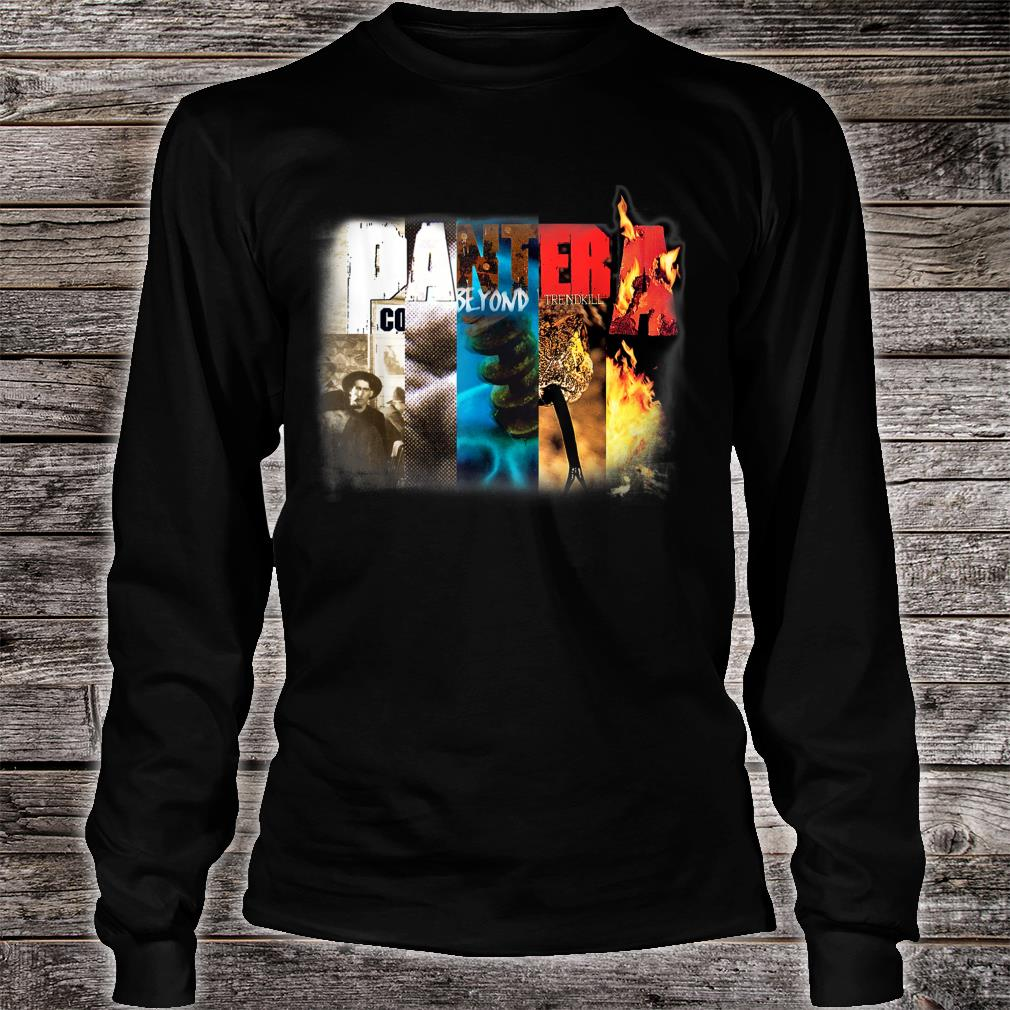 Pantera Official Collage Album Shirt long sleeved
