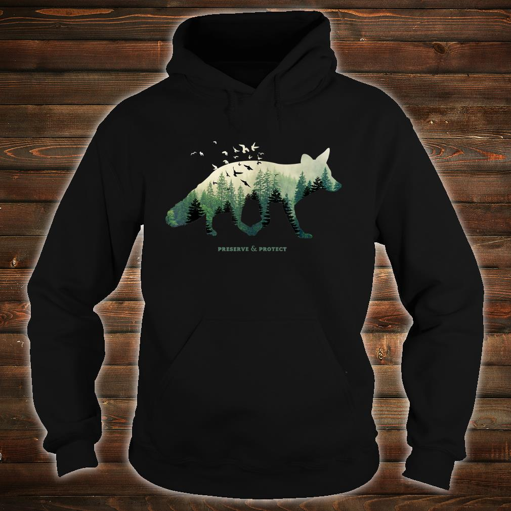 Preserve & Protect Vintage National Park Fox Forest Shirt hoodie