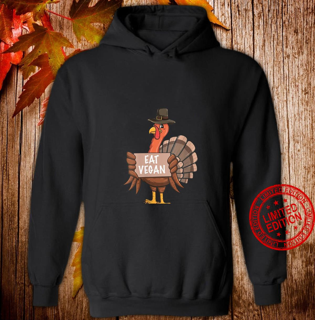 Womens Thanksgiving Turkey Eat Vegan Shirt hoodie